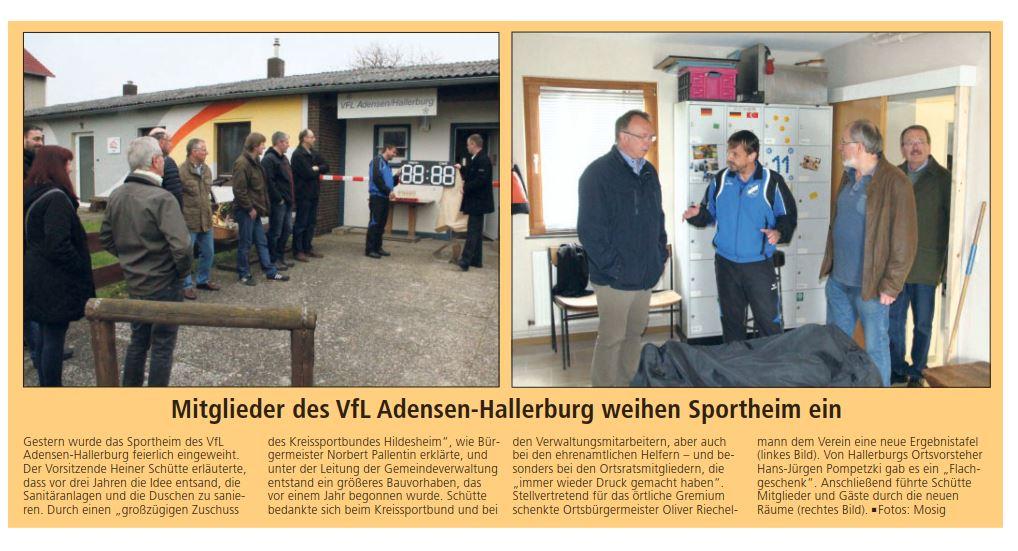 20170327_LDZ Vereinsheim Einweihung Anzeigetafel