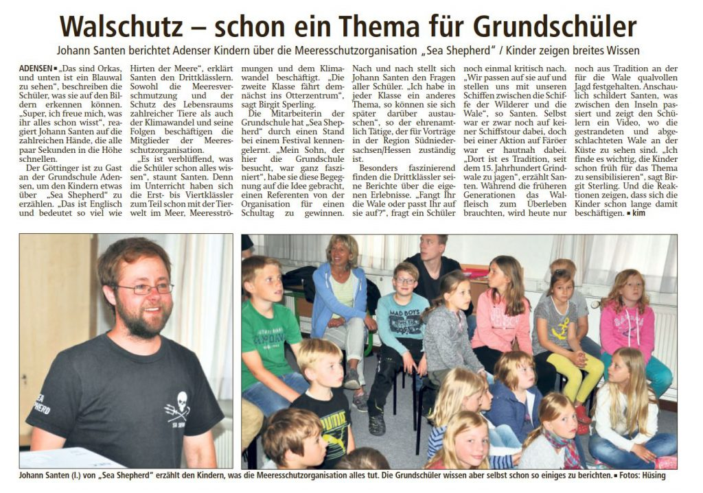 (Bericht LDZ Leine Deister Zeitung vom 09.06.2017)