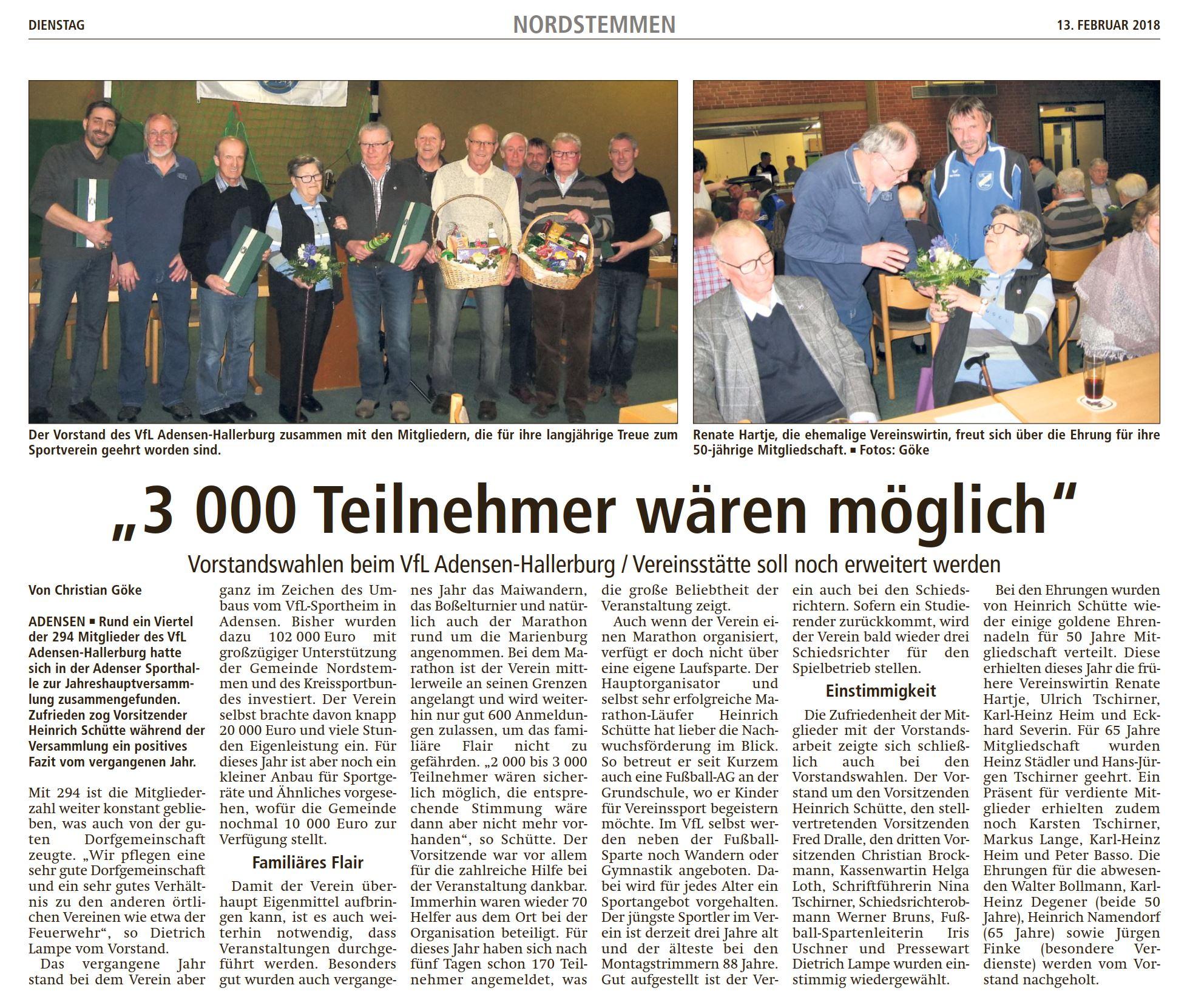 20180213_LDZ VfL Adensen Hallerburg JHV