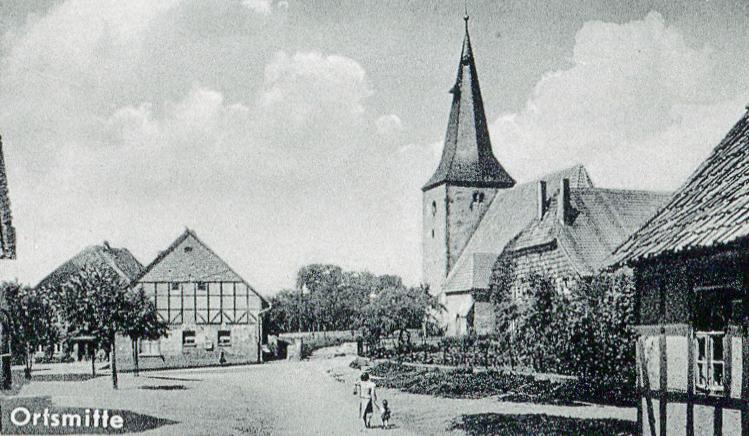 Adensen_Postkarte004 Ausschnitt Ortsmitte.