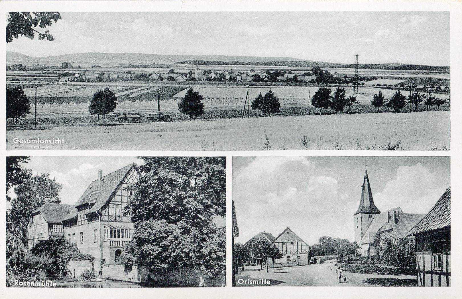 Adensen Postkarte