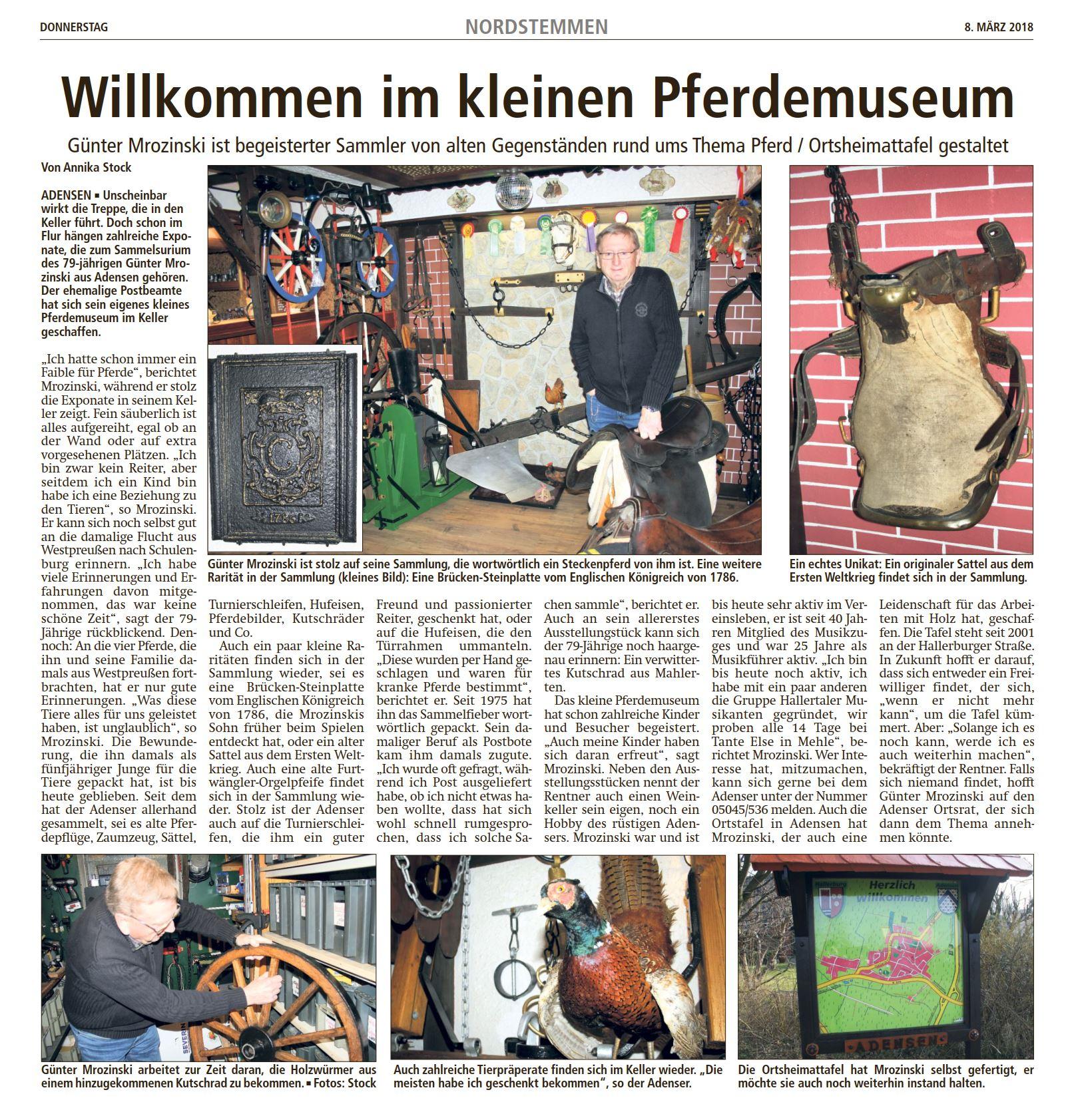 20180308_01 LDZ Pferdemuseum Günter Mrozinski Adensen
