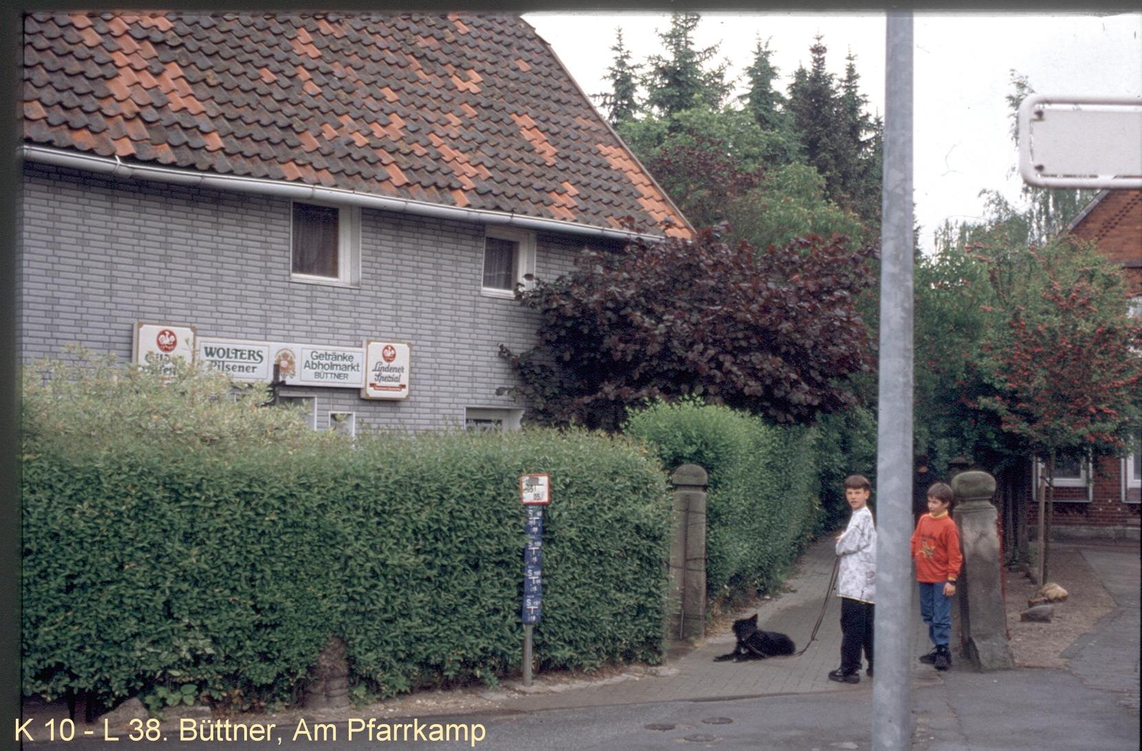 HEAD_ORG_K 10 - L 38. Büttner , Am Pfarrkamp