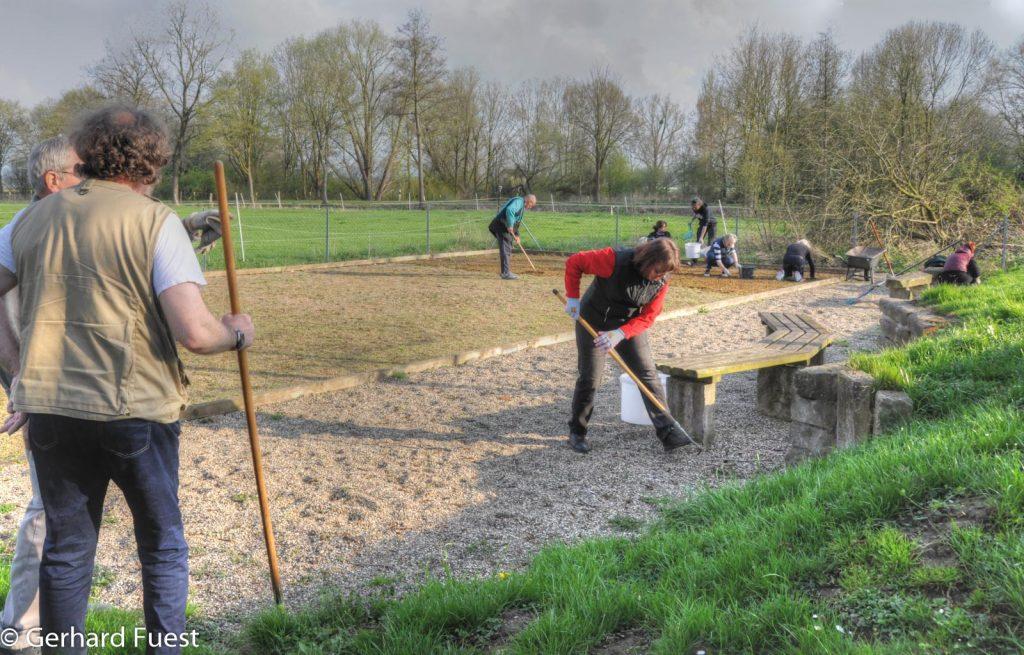 Hallerburg: Dorfpflegetag 2018